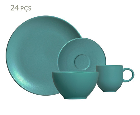 Jogo de Café da Manhã Stoneware Fiordes - 06 Pessoas | WestwingNow