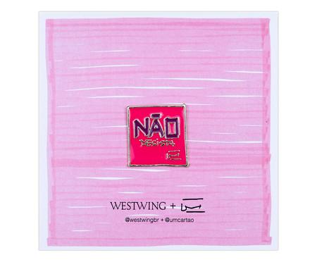 Pin Não Desista | WestwingNow