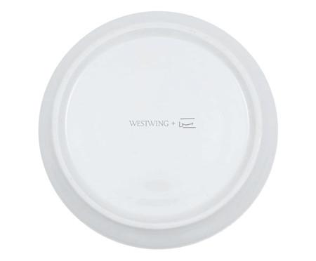 Prato Decorativo em Porcelana Floresço - 15,5cm | WestwingNow
