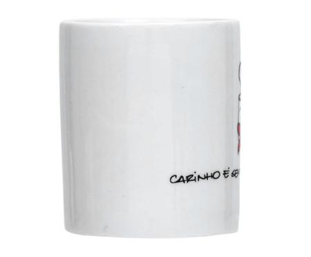 Caneca em Porcelana Quentinho - Branco | WestwingNow