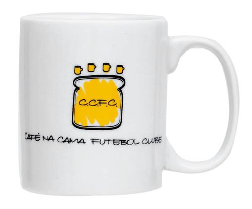Caneca em Porcelana Futebol Clube - Branco, Branco   WestwingNow