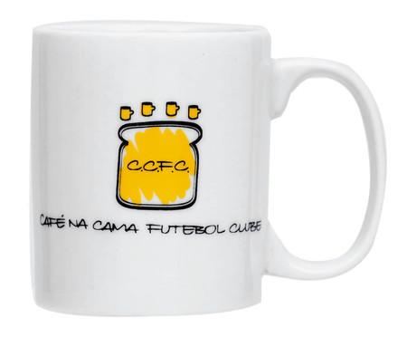 Caneca em Porcelana Futebol Clube - Branco | WestwingNow
