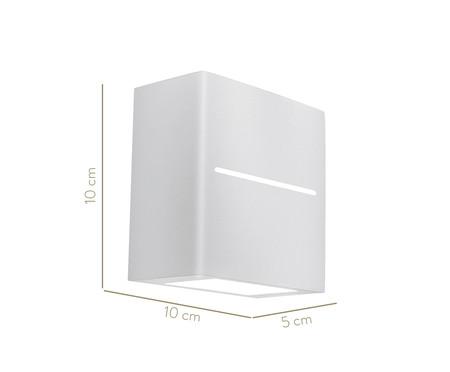 Arandela de Led 6W New Trace Branca - 220V | WestwingNow
