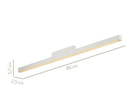 Plafon de Led 24W Lio Branco - Bivolt   WestwingNow