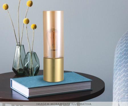 Luminária de mesa Spire Dourado - Bivolt   WestwingNow