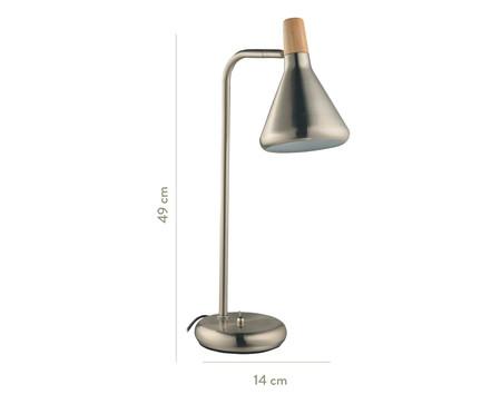 Luminária de Mesa Julia Prata - Bivolt | WestwingNow