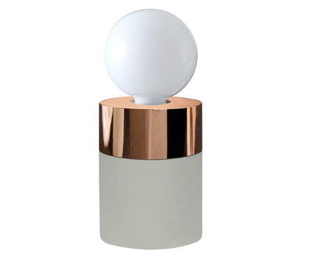 Luminária de Mesa Catherine Concreto - Bivolt | WestwingNow