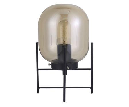 Luminária de Mesa Simone Preto - Bivolt | WestwingNow