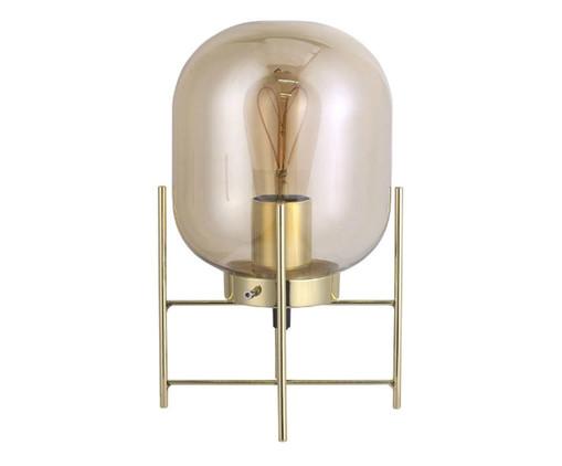 Luminária de Mesa Simone Dourado - Bivolt, Dourado | WestwingNow