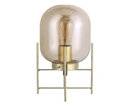 Luminária de Mesa Simone Dourado - Bivolt | WestwingNow