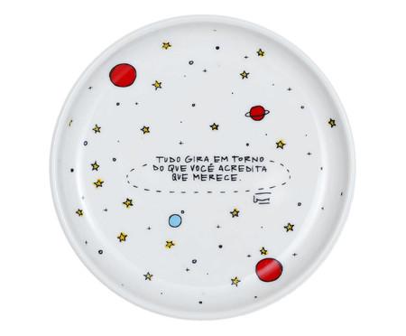 Prato Decorativo em Porcelana Gira - 15,5cm | WestwingNow
