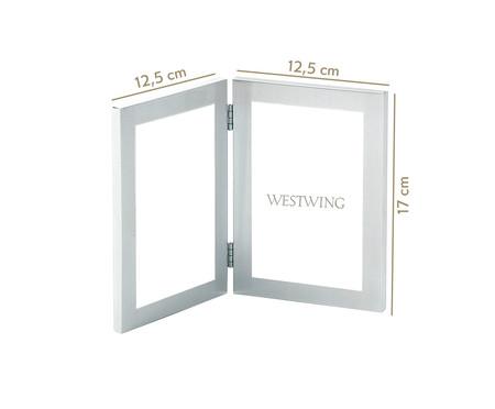 Porta-Retrato Louise - Prata | WestwingNow