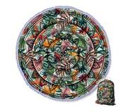 Canga Redonda Floral Mandala - Laranja | WestwingNow