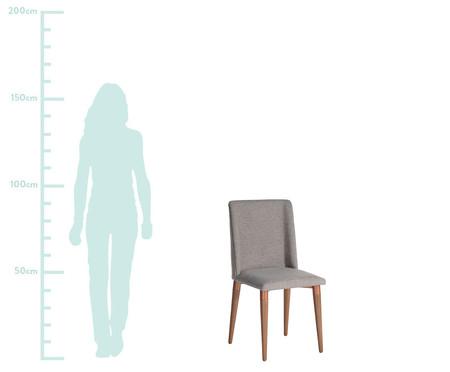Conjunto de Cadeiras Thyra - Cinza | WestwingNow