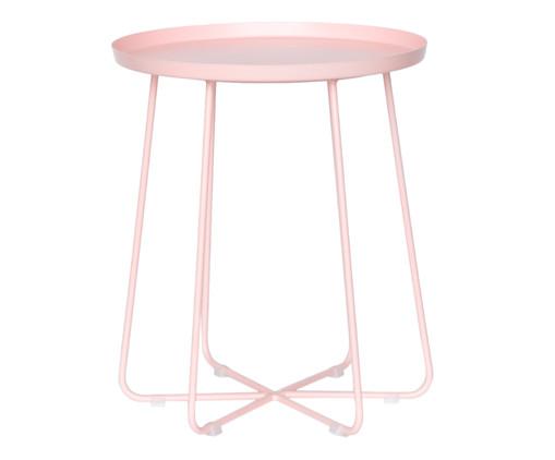 Mesa de Apoio Cross - Rosé, Rosa, Colorido | WestwingNow