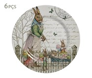 Jogo de Pratos Rasos London Easter | WestwingNow