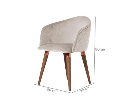 Cadeira Kari - Bege | WestwingNow
