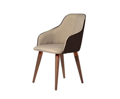 Cadeira Martha - Marrom, Marrom | WestwingNow