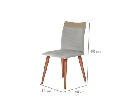 Cadeira Becca - Bege | WestwingNow