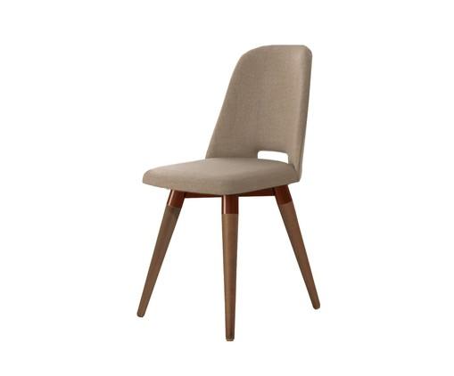 Cadeira Selina Giratória - Marrom, Marrom | WestwingNow