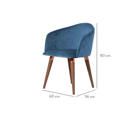 Cadeira Kari - Azul   WestwingNow