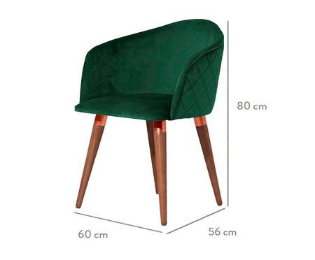 Cadeira Kari - Verde | WestwingNow