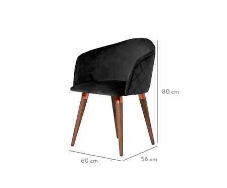 Cadeira Kari - Preto | WestwingNow