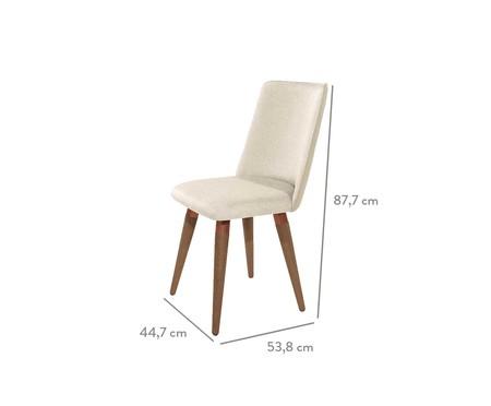 Cadeira Dakota Giratória - Bege   WestwingNow
