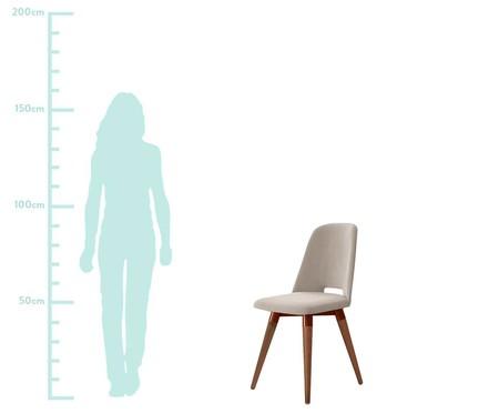 Cadeira Selina Giratória - Fendi | WestwingNow