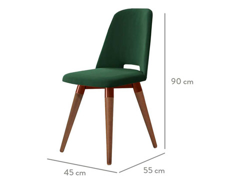 Cadeira Selina Giratória - Verde | WestwingNow