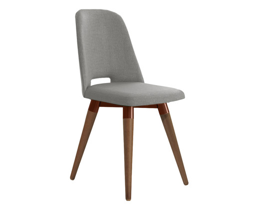 Cadeira Selina Giratória - Cinza, Cinza | WestwingNow