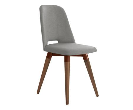 Cadeira Selina Giratória - Cinza | WestwingNow