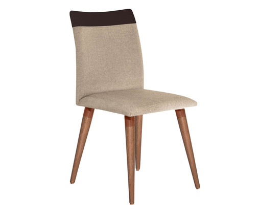 Cadeira Becca - Marrom, Marrom | WestwingNow