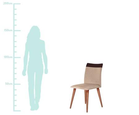 Cadeira Becca - Marrom | WestwingNow