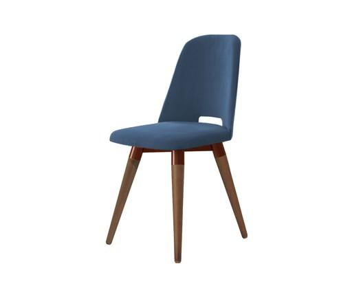 Cadeira Selina Giratória - Azul, Azul   WestwingNow