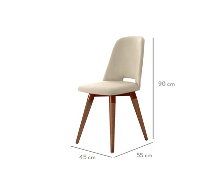 Cadeira Selina Giratória - Bege | WestwingNow