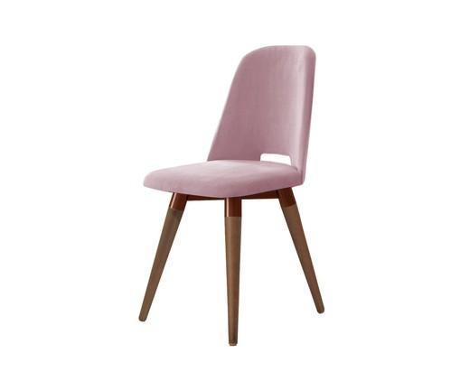 Cadeira Selina Giratória - Rosa, Rosa | WestwingNow