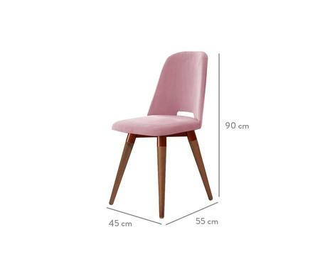 Cadeira Selina Giratória - Rosa | WestwingNow