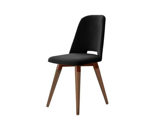 Cadeira Selina Giratória - Preto, Preto | WestwingNow