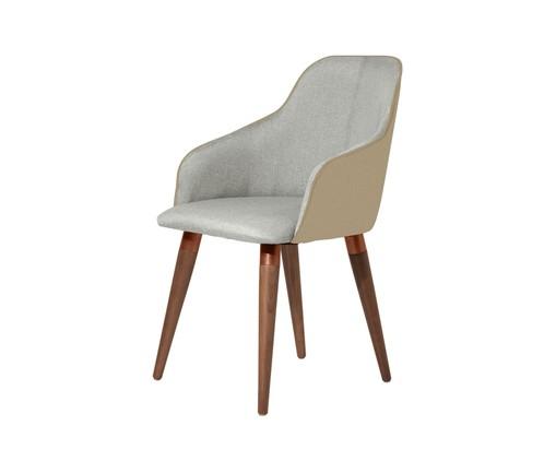 Cadeira Martha - Cinza, Cinza | WestwingNow