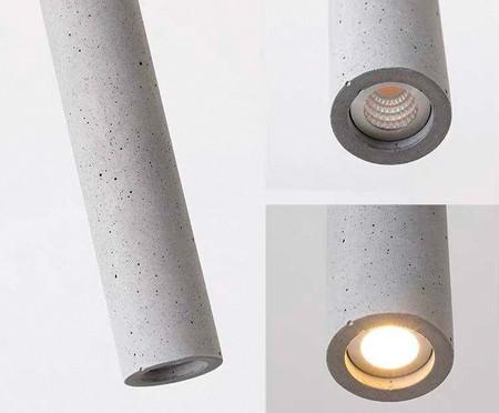 Pendente de Led Nature Concreto - 110V | WestwingNow