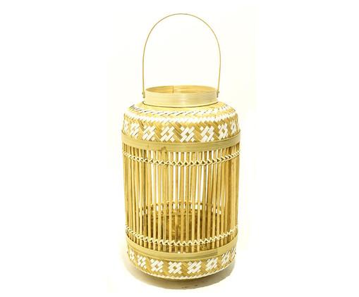 Lanterna em Bambu Dani, Bege   WestwingNow