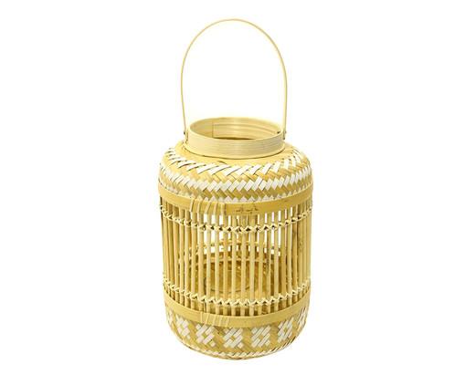 Lanterna em Bambu Kian, Bege   WestwingNow