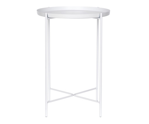 Mesa de Apoio Chelly - Branca, Branco, Colorido | WestwingNow