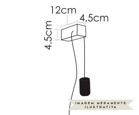 Arandela Toco Iris Acobreado Bivolt - 4,5X12cm | WestwingNow