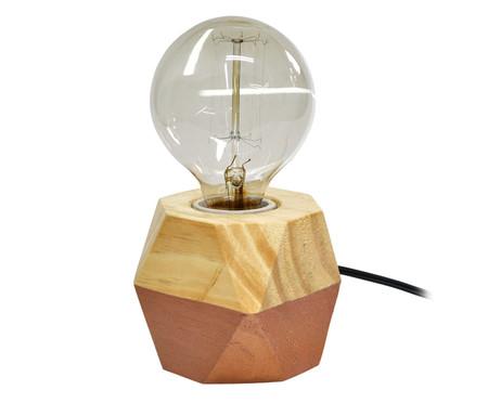 Luminária de Mesa Octa Iris Cobre - Bivolt | WestwingNow