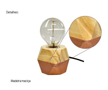Luminária de Mesa Octa Iris Cobre - Bivolt   WestwingNow
