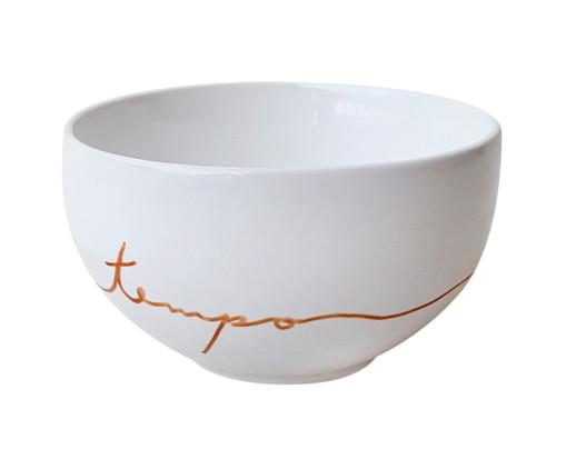 Bowl em Porcelana Elasticar O Tempo, Branco | WestwingNow