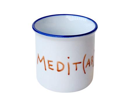 Caneca em Porcelana Medit(ar) | WestwingNow