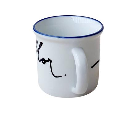 Caneca para Café em Porcelana Flor | WestwingNow